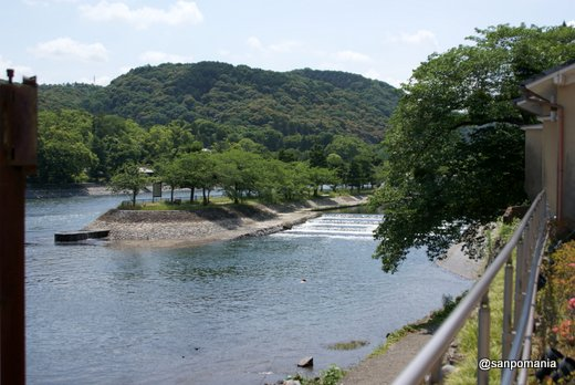 2011/06/25;中村藤吉 平等院店の前の景色