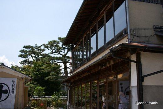 2011/06/25;中村藤吉 平等院店の川沿いの席