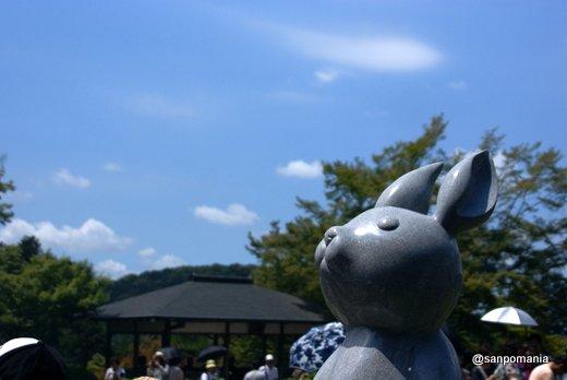 2011/06/25;三室戸寺の狛兎