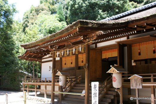 2011/06/25;宇治上神社の拝殿