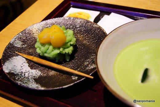 2011/09/11;京都茶寮のお抹茶と和菓子