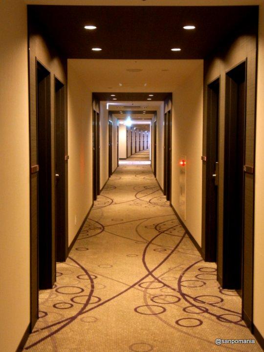 2012/06/19;ホテル近鉄京都駅の廊下