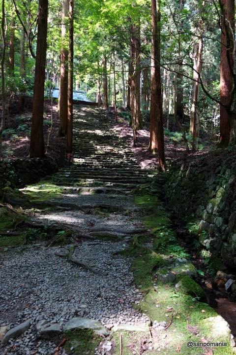 2012/09/16;高山寺の金堂道