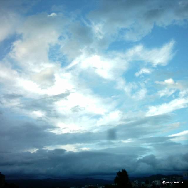 2012/09/17;気が付けば雨雲がすぐそこまで